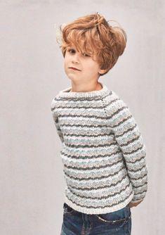 #knit pattern for kids from Sandnes garn - Daisy sweater