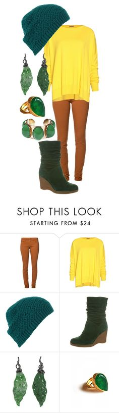 """""""Gus gus"""" by lovelylittledisney ❤ liked on Polyvore featuring Joe's Jeans, Tomas Maier, Topshop, KMB, Lucifer Vir Honestus, toosis and Philippe Ferrandis"""