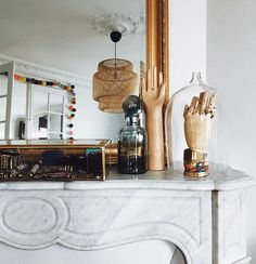 sfgirlbybay / bohemian modern style from a san francisco girl New Orleans Decor, Things Organized Neatly, Cosy Home, Interior Styling, Interior Design, Mantle Piece, Home Decor Accessories, Fashion Accessories, Jewellery Storage