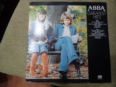 Vintage Vinyl Record ABBA Greatest Hits by Evolved86 on Etsy $10.00