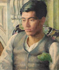 DORA CARRINGTON 1893-1932 PORTRAIT OF FRANK PREWETT