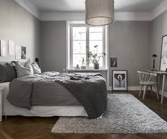 'Minimal Interior Design Inspiration' is a biweekly showcase of some of the most perfectly minimal interior design examples that we've found around the web - Interior Design Examples, Interior Design Inspiration, Room Inspiration, Interior Ideas, Design Ideas, Scandinavian Bedroom, Cozy Bedroom, Bedroom Decor, Bedroom Ideas