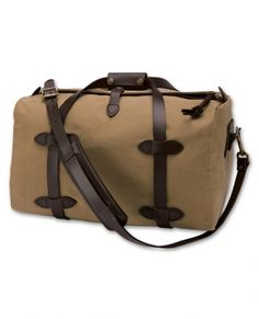 Filson Duffle Bag i love this rugged bag