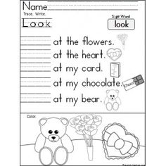 Sight Words Worksheets | PrimaryLearning.org