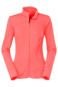 51aaf1e50afe5 The North Face Women's Pulse Jacket - Slim-fitting, soft and stretchy, this