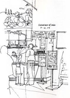 sketch cafee