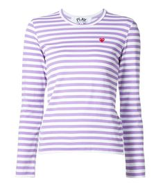 Comme des Garçons Play Mini Heart Striped T-Shirt Latex Fashion, Fashion Goth, Comme Des Garcons, Gothic Dress, Mode Inspiration, Fall Winter Outfits, Clothing Items, Pretty Dresses, Cool T Shirts