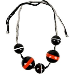 Marni Necklace (66.125 HUF) ❤ liked on Polyvore featuring jewelry, necklaces, black, horn necklace, marni, marni jewelry, horn jewelry and marni necklace