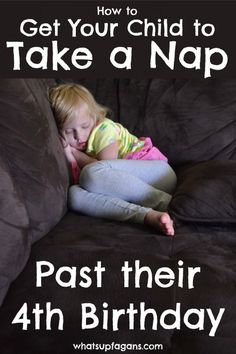 How to get child to take a nap everyday past their 4th birthday! Great advice from a mom of twins who did it.