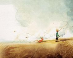 (Le petit prince!) #LePetitPrince #Watercolor #TheLittlePrince