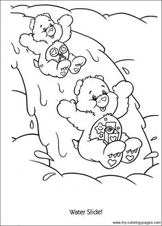 Care Bears Coloring 042