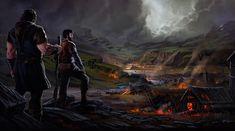 The Summerlands Art Fantasy art Scene design
