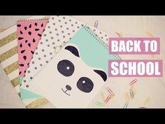 DIY Volta as Aulas - Cadernos Fofos | Larissa Vale - YouTube