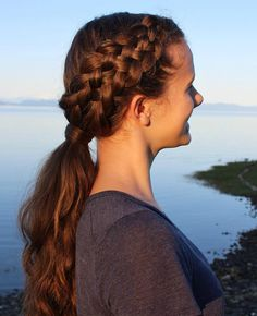 Side+Strand+Braid+With+Low+Ponytail
