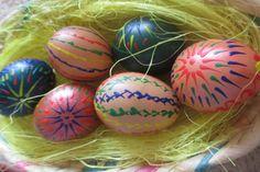 DIY easter eggs by me