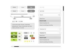 Minimal UI Kit Free PSD