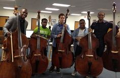 Joseph Conyers, Assistant Principal Bassist of The Philadelphia Orchestra teaches Master Class for young West Philadelphia musicians.