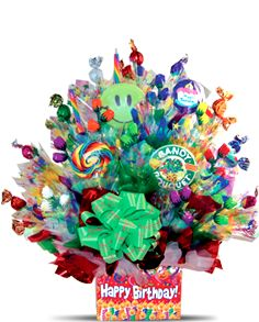 candy bouquets...love it ..great gift for anyone ESP work friends