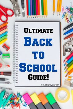 Ultimate Back to School Guide - with Back to school tips, crafts and activities from your favorite bloggers!!!