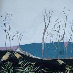 Dana Kinter.~ Paint Backsplash, Australian Artists, Pet Birds, Art Inspo, Natural Stones, Printmaking, Color Schemes, Tapestry, Cabinet Colors