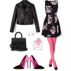 A fashion look from March 2017 by cozywow-socks featuring Oscar de la Renta, Maison Margiela, Oscar de la Renta Pink Label and Lancôme