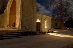 Church ruins. Teuva, South Ostrobothnia province of Western Finland. - Etelä-Pohjanmaa.