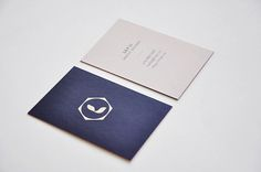 Personal Business Cards by Lily Li, via Behance