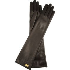 Gucci Long leather gloves (15.705 RUB) found on Polyvore 67b27c036c2
