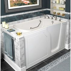 access tubs walk in jetted bathtub. A  Walk In Tubs Dignity 48 X 28 Whirlpool And Air Jetted American Standard 2651 110 W Tub Easy Access