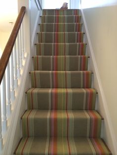 Roger Oates Green Stair Runner And Rug Carpet