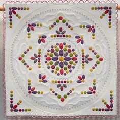 Minature Quilts – First Place – Measure for Measure – Philippa Naylor. 2017 Festival of Quilts (UK)