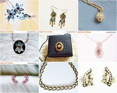 Beauties from #YoursOccasionally - Selected items on #Sale through 1/10 - spend your #Etsygiftcard here!