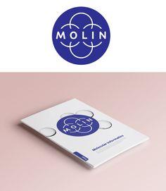 Molin / molecular informatics / logo design, visual identity