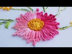 БРАЗИЛЬСКАЯ ВЫШИВКА | BRAZILIAN EMBROIDERY| cast on stitch - YouTube