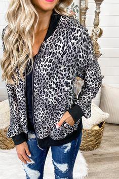 Cheetah Print Bomber Jacket Simply Me Boutique Shop Simply Me – Simply Me Boutique