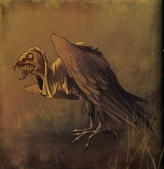 the vulture  by ~CoconutMilkyway
