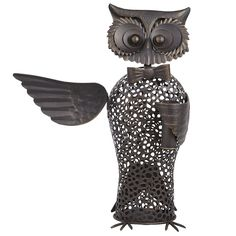 Pier 1 Owl Butler Cork Holder....so neat it holds a towel, corkscrew, and a place to store your corks