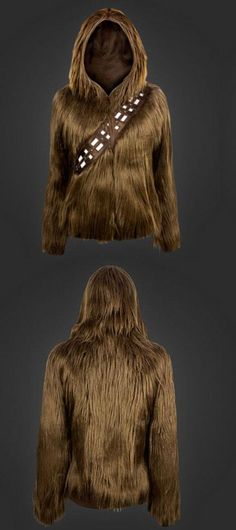 Chewbacca hoodie is just as awesome as you think it is The ultimate swag for any Star Wars fan!The ultimate swag for any Star Wars fan! Star Wars Rebels, Star Trek, Starwars, Geeks, Look Star, Halloween Karneval, Star Wars Outfits, Chewbacca, Cosplay