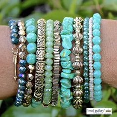 DIY Bohemian Groove Bracelet featuring #BeadGallery beads available at @michaelsstores #madewithmichaels