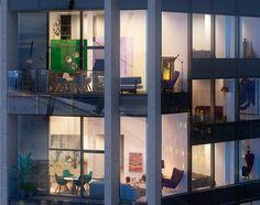 Quelques chanceux peuvent acquérir un appartement unique dans le Sud Est de Londres dans le n°2 Upper Riverside, une conception dirigée par Knight Dragon e