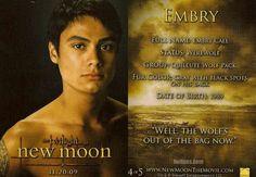 #TwilightSaga #NewMoon - Embry Call #4