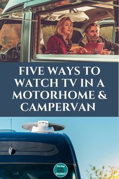 Do you want to learn how to get tv in a motorhome or are you looking for the best new 12v motorhome tv? Find out all you need to know here in our complete guide #motorhometv #motorhomegadgets #tvinmotorhome #replacingtvinmotorhome #motorhomeaccessories Campervan Accessories, Motorhome Accessories, Rv Accessories, Motorhome Living, Motorhome Interior, Motorhome Organisation, Life Guide, Rv Life, Life Advice