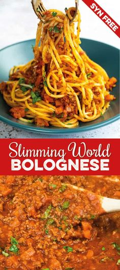 Rich, delicious and SYN FREE Slimming World Spaghetti Bolognese. Suitable for freezing and Extra Easy SP   Supergolden Bakes
