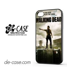Fight The Dead Fear The Living Walking Dead DEAL-4199 Apple Phonecase Cover For Iphone 4 / Iphone 4S