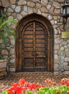 Mexican style entry ~ love all the different textures House Entrance, Entrance Doors, Doorway, Entry Gates, Cool Doors, Unique Doors, Portal, When One Door Closes, Spanish Style Homes