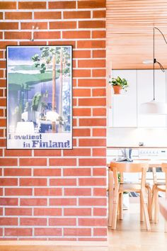 Candeo bright light lamp in beautiful home. Design by Katriina Nuutinen, produced by Finnish Innolux Oy in Finland.