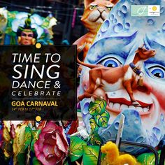 The 500-year rich #GoaCarnival is the most exciting and eventful annual celebration of Goa. Get beached between this 14th and 17th for endless fun! Come to #MangoCity #Goa #StayMango