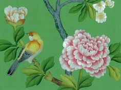 This green..is it spring yet! (Sigh) Song Sassoon Griffin & Wong Collections: Chinoiserie Paper