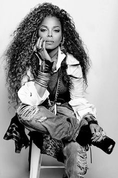 Janet Jackson, 'Unbreakable' album cover shoot. Loving the mix of 'Velvet Rope' era w/ 'janet.'