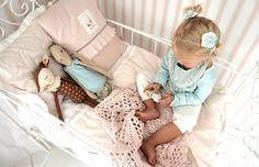 Maileg Medium size bunny and Maileg Bambi being loved. - http://www.mysweetmuffin.com/item/Maileg-Bambi/1101/c77